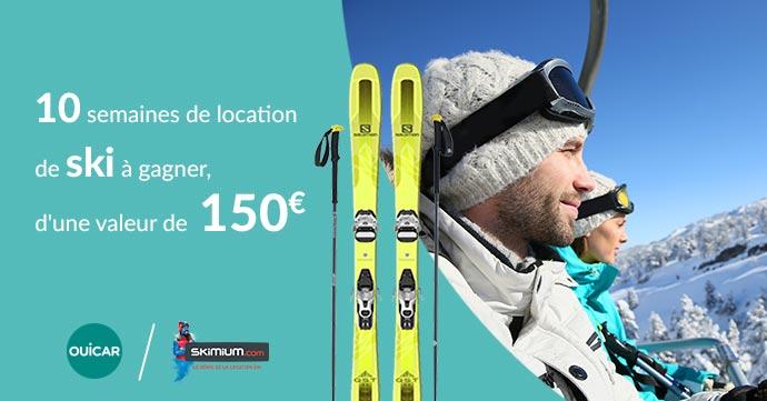 concours pour gagner des ski
